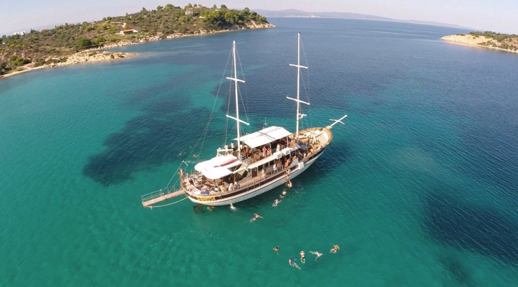 A great big thank you to all who enjoy our cruises in Mount Athos