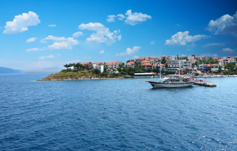 The Ammouliani Island in Halkidiki