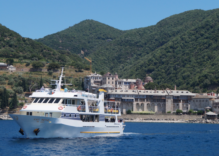 Admire the beautiful nature of Mount Athos and the rich cultural legacy of monasteries