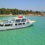 halkidiki cruises swim