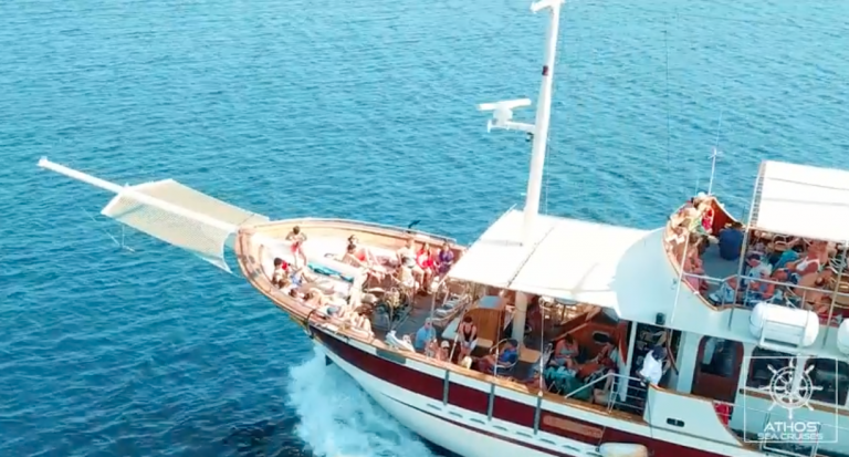 Enjoy our new video – Halkidiki cruises