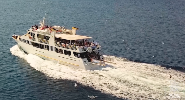 Watch our new incredible video and choose your cruise in Halkidiki