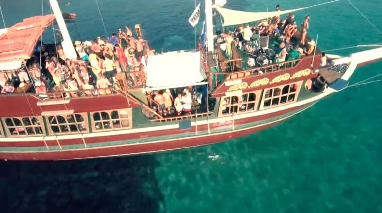 Halkidiki's best boat party