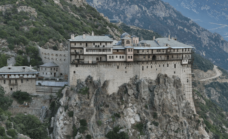 Visiting Mount Athos