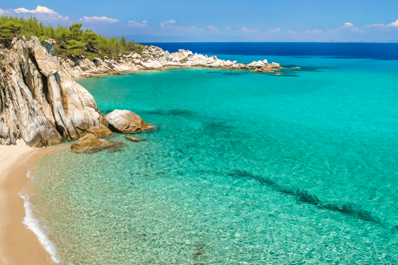 Endless magical landscapes of Sithonia Halkidiki