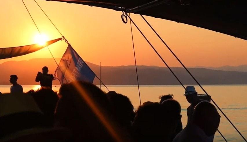 VIP Boat Party in Halkidiki