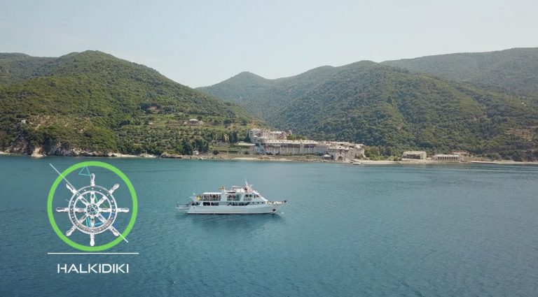 Athos Sea Cruises Restarts cruising excursions in Chalkidiki (vid)