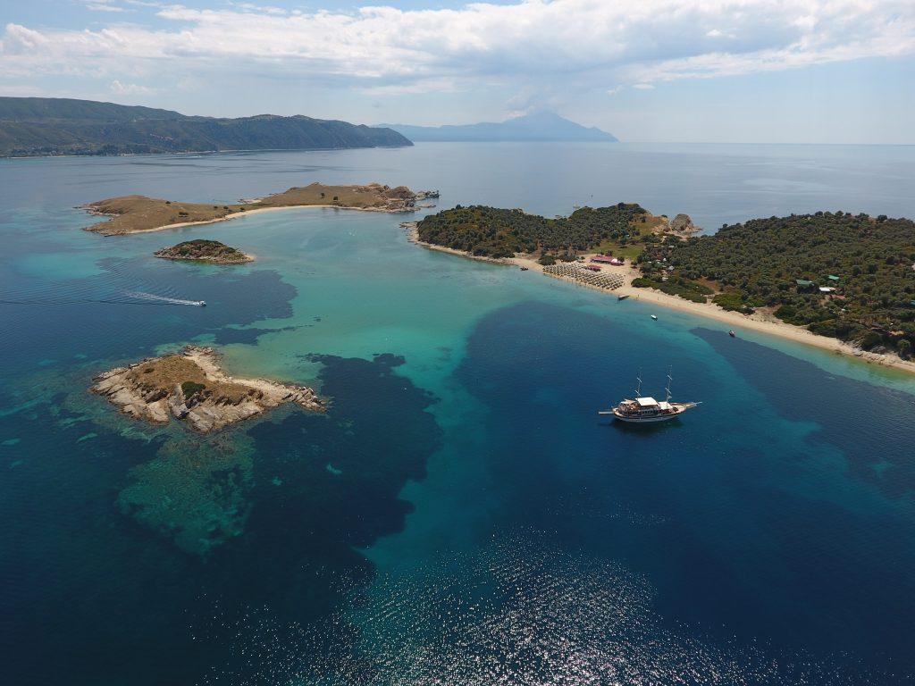 Drenia islands Ammouliani