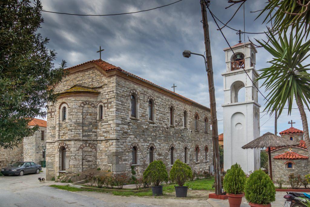 Sain Nikolas church in Ammouliani 1865