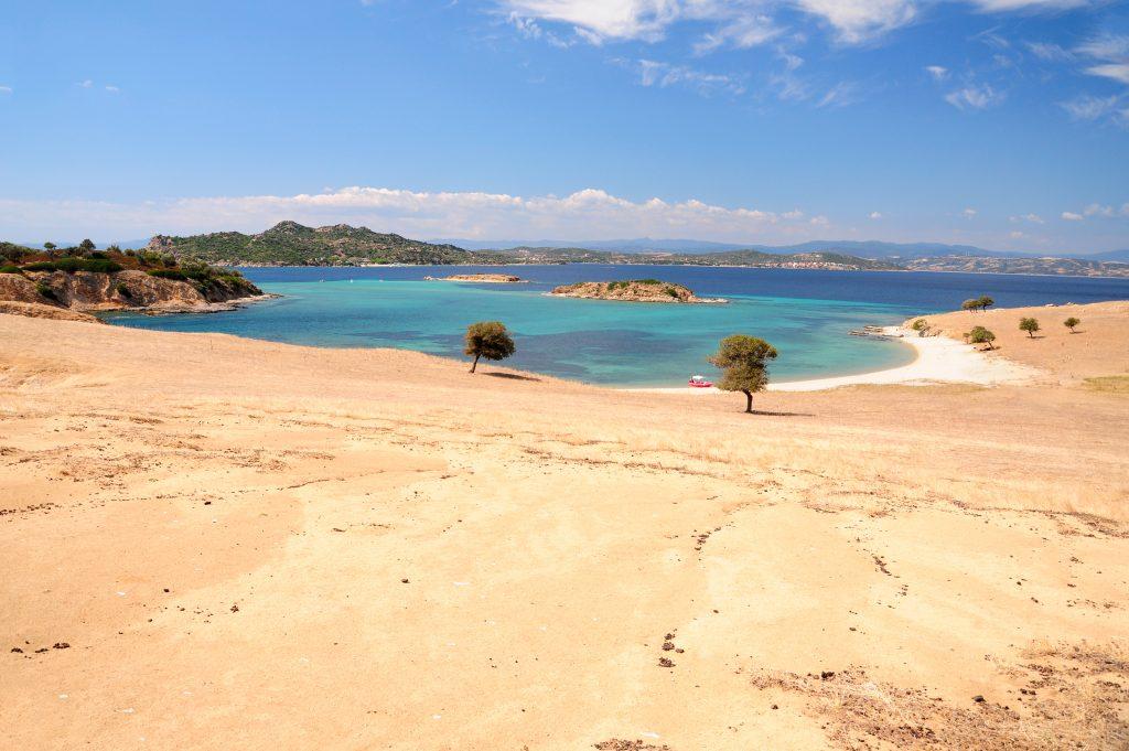 Tigani island Drenia Ammouliani Halkidiki