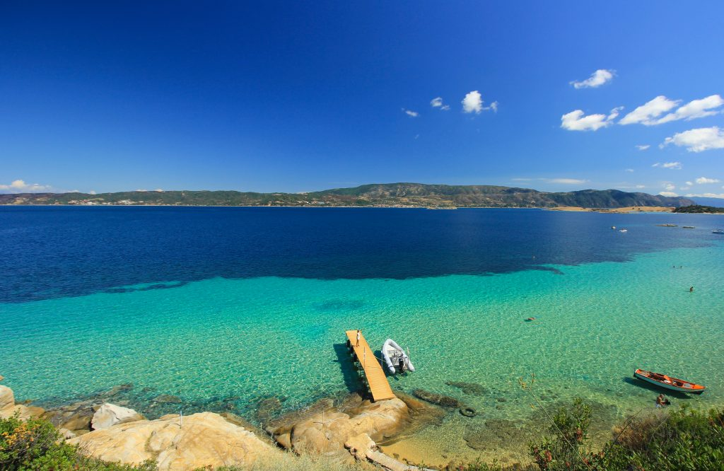 Megali Ammos beach Ammouliani