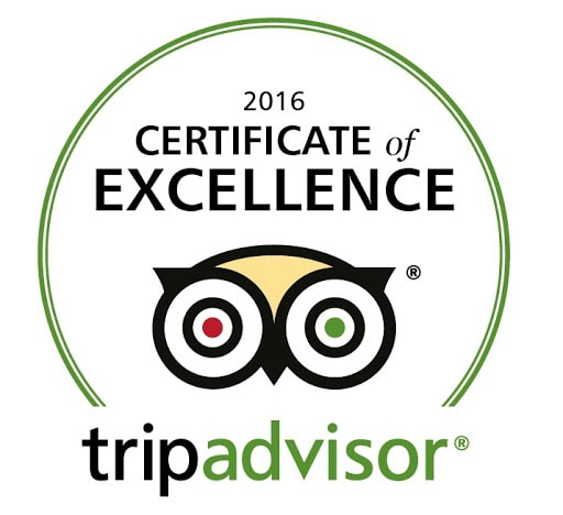 TripAdvisor Travelers' Choice 2016