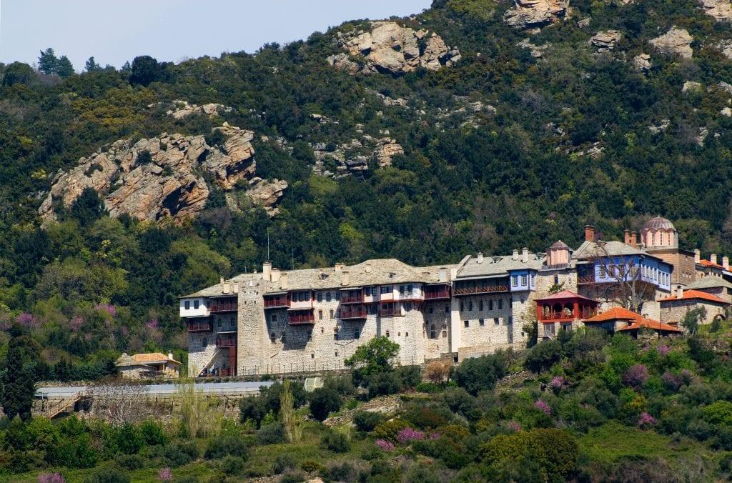 Монастырь Ксиропотамоу. Афон