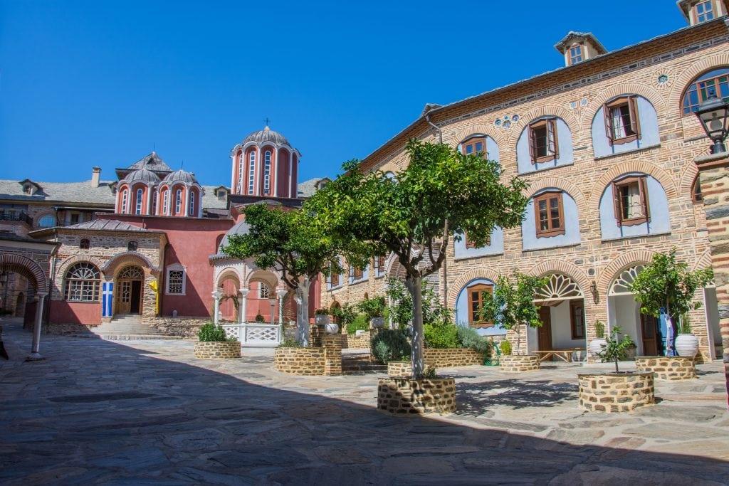Монастырь Пантократорос