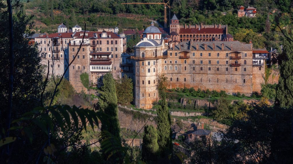 Зографу монастырь
