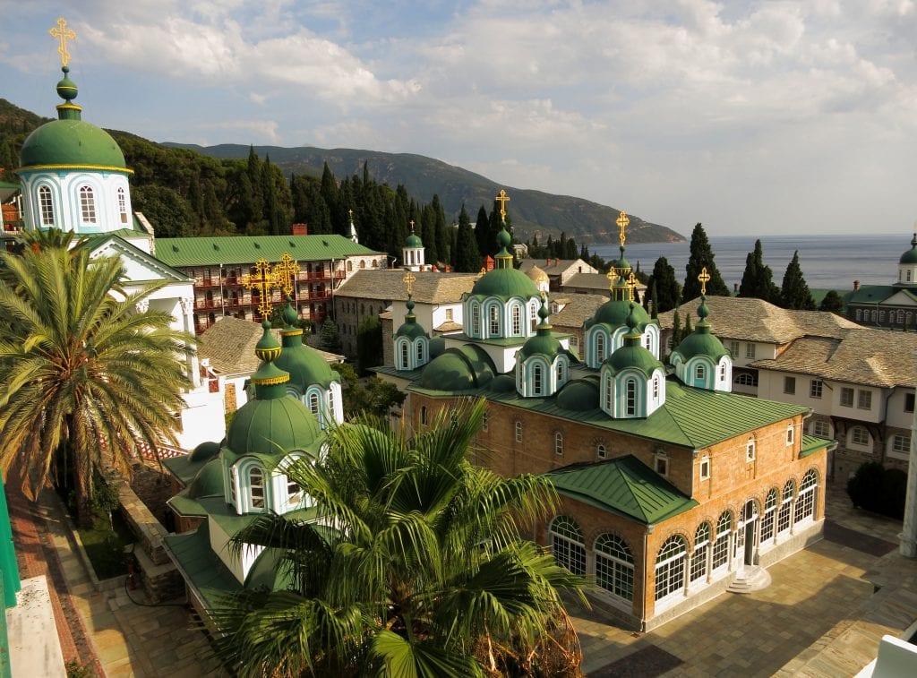 Монастырь Святого Пантелеймона.Афон