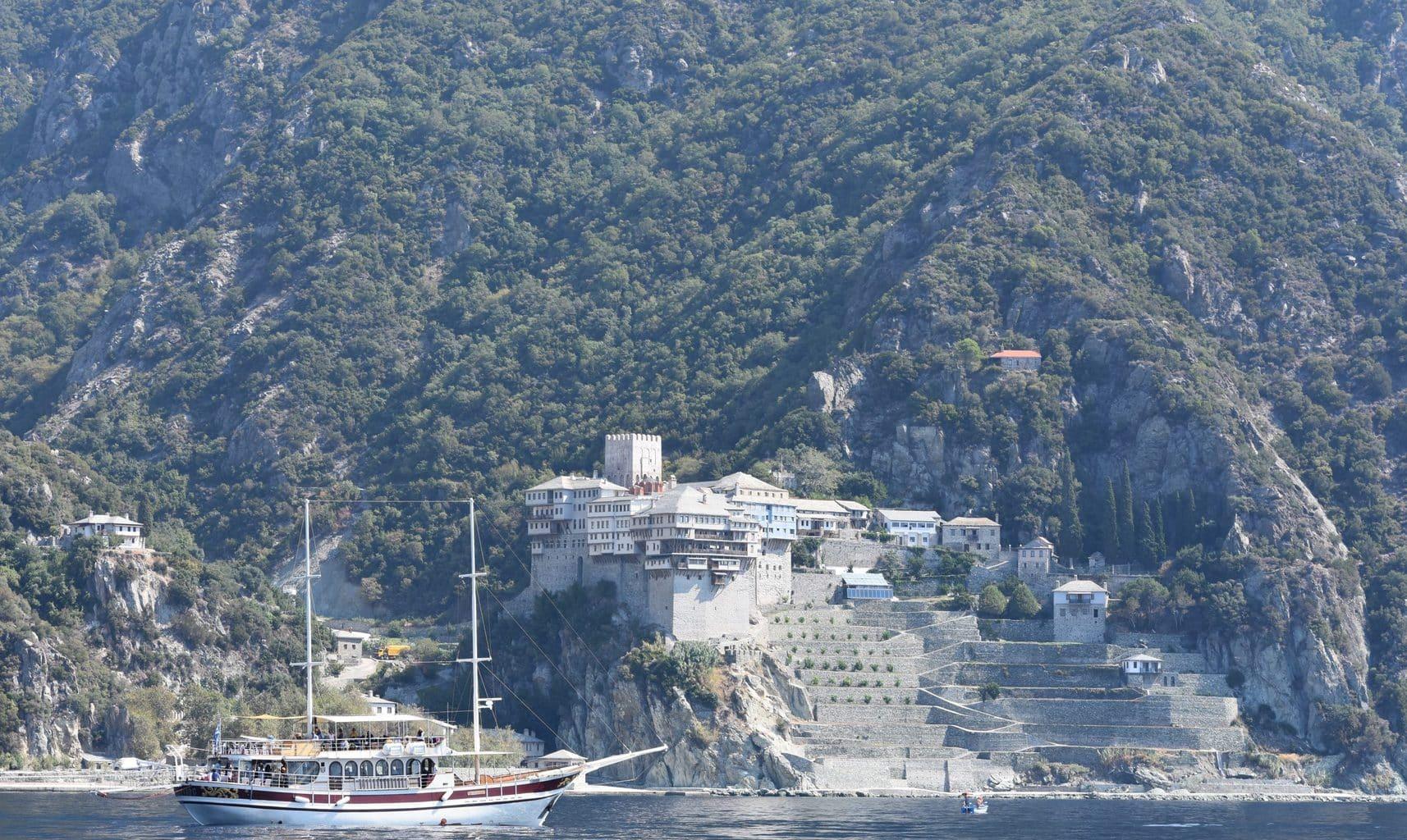 ormos panagias to mount athos cruise 2