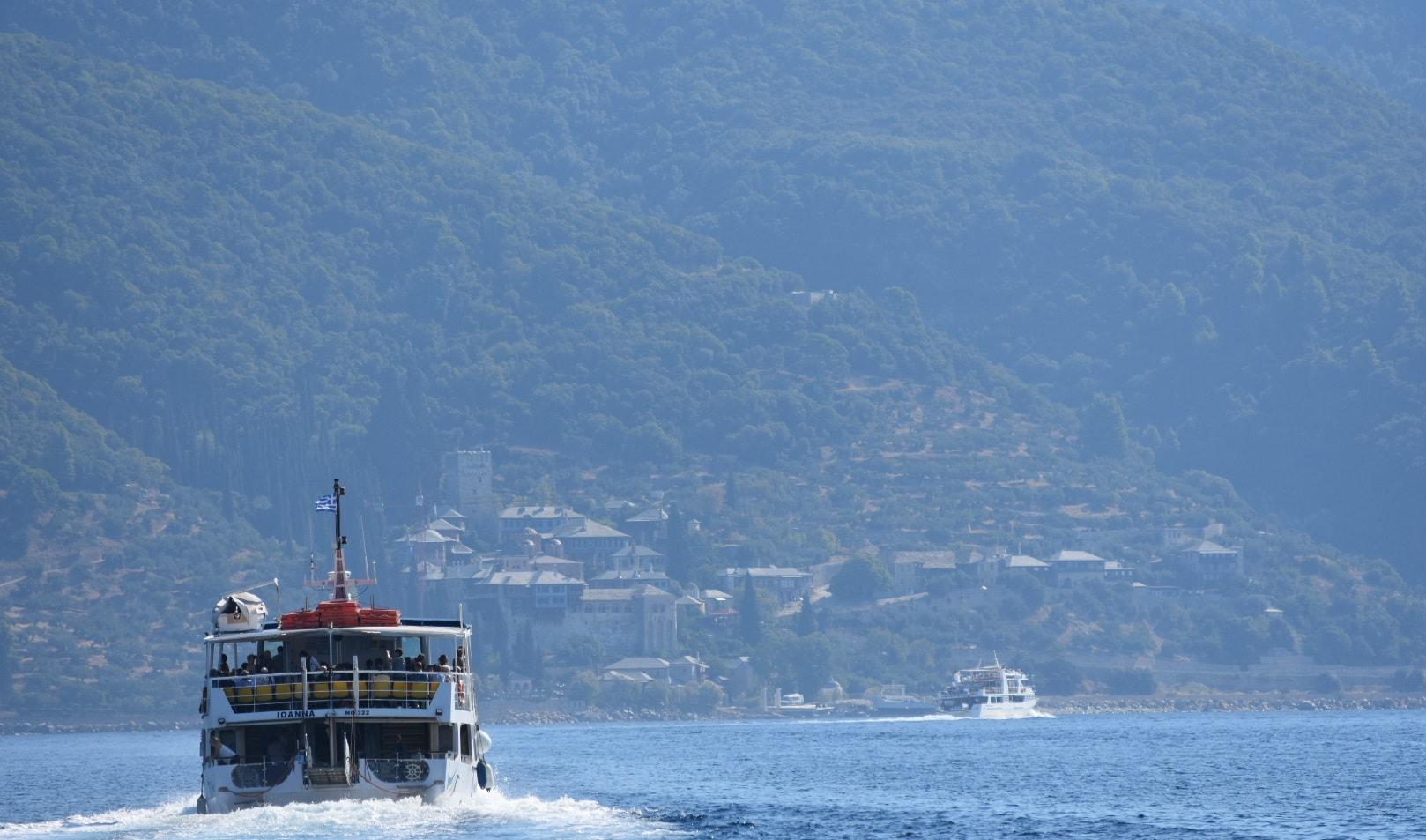 ouranoupolis to mount athos and ammouliani